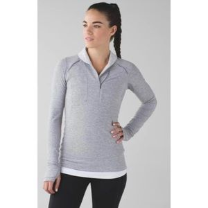 Lululemon Think Fast Pullover Size 4